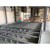Окрасочно-сушильный комплекс утановленный на мебельной фабрике. Муром.