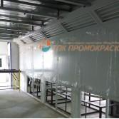 Линия окраски деталей фасада и комплектующих SAMSUNG. Калужская область.